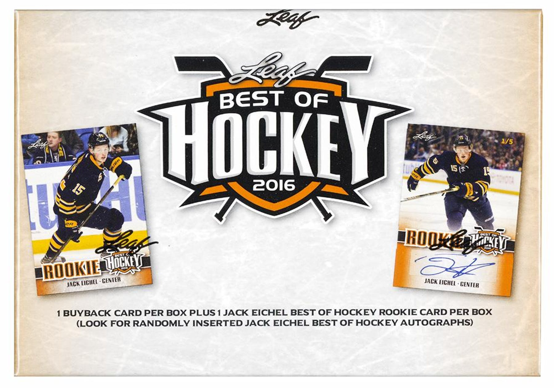 2015 16 leaf best of hockey hobby box da card world for Best cards of 2015