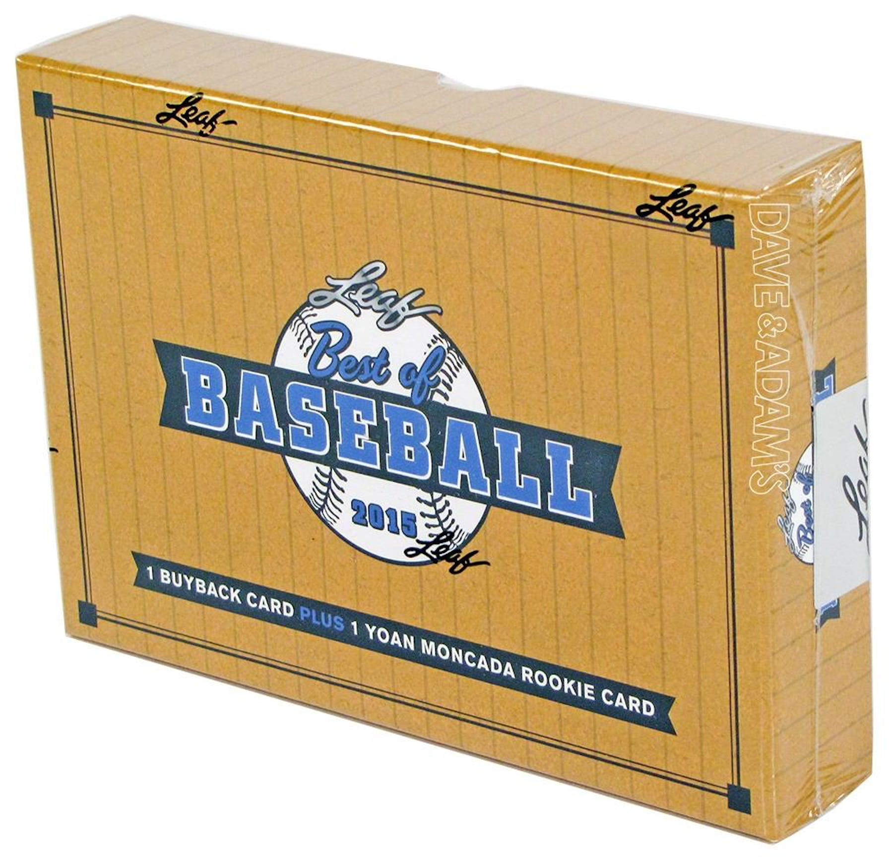 2015 leaf best of baseball hobby box da card world for Best cards for 2015