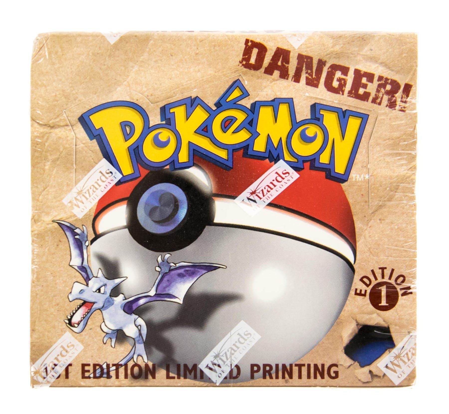 Pokemon Fossil 1st Edition Booster Box | DA Card World