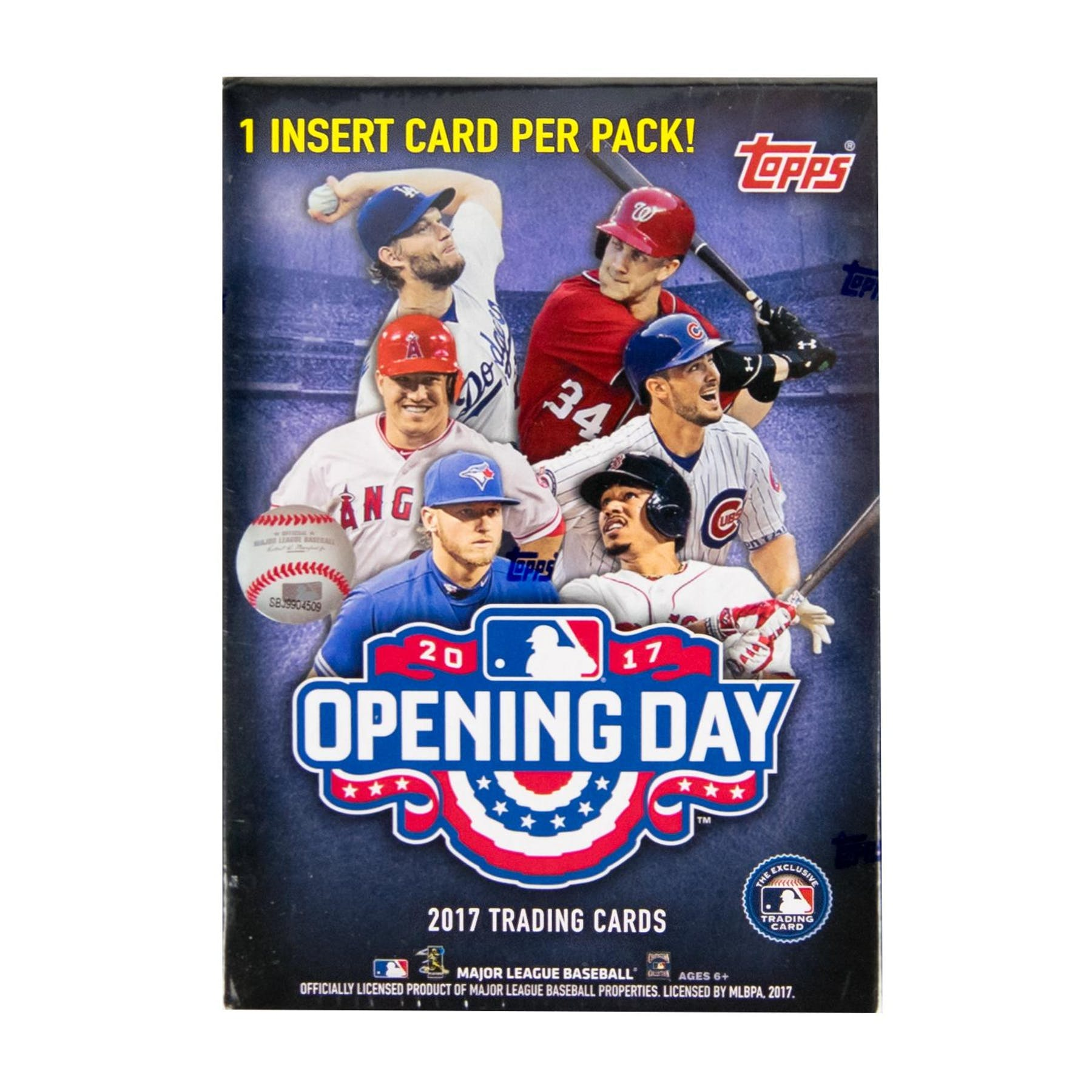 Some Opening Day Baseball Fun From Ace Of: 2017 Topps Opening Day Baseball 11-Pack Box