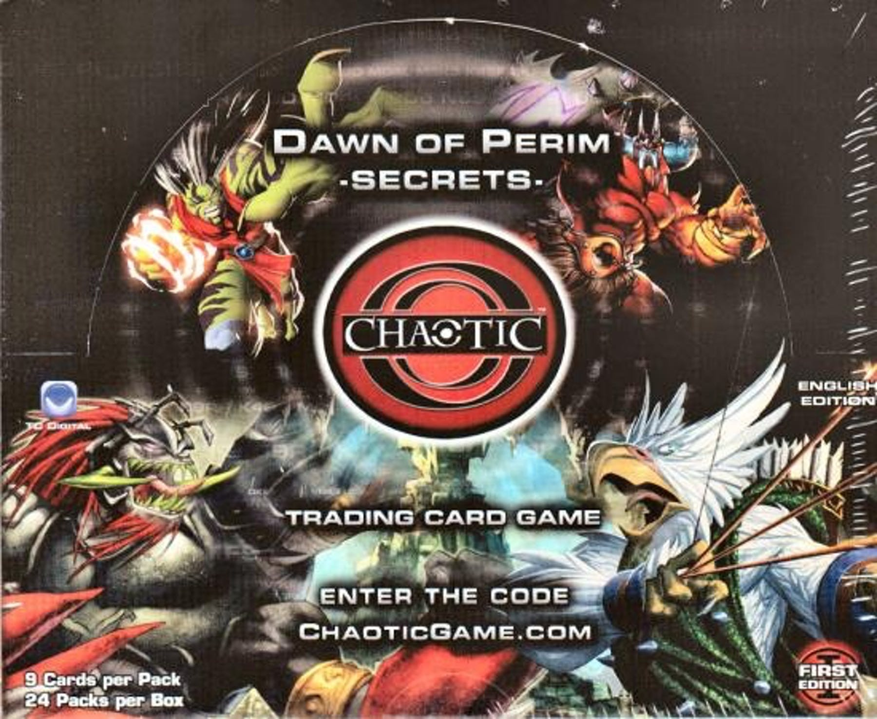 how to play chaotic card game