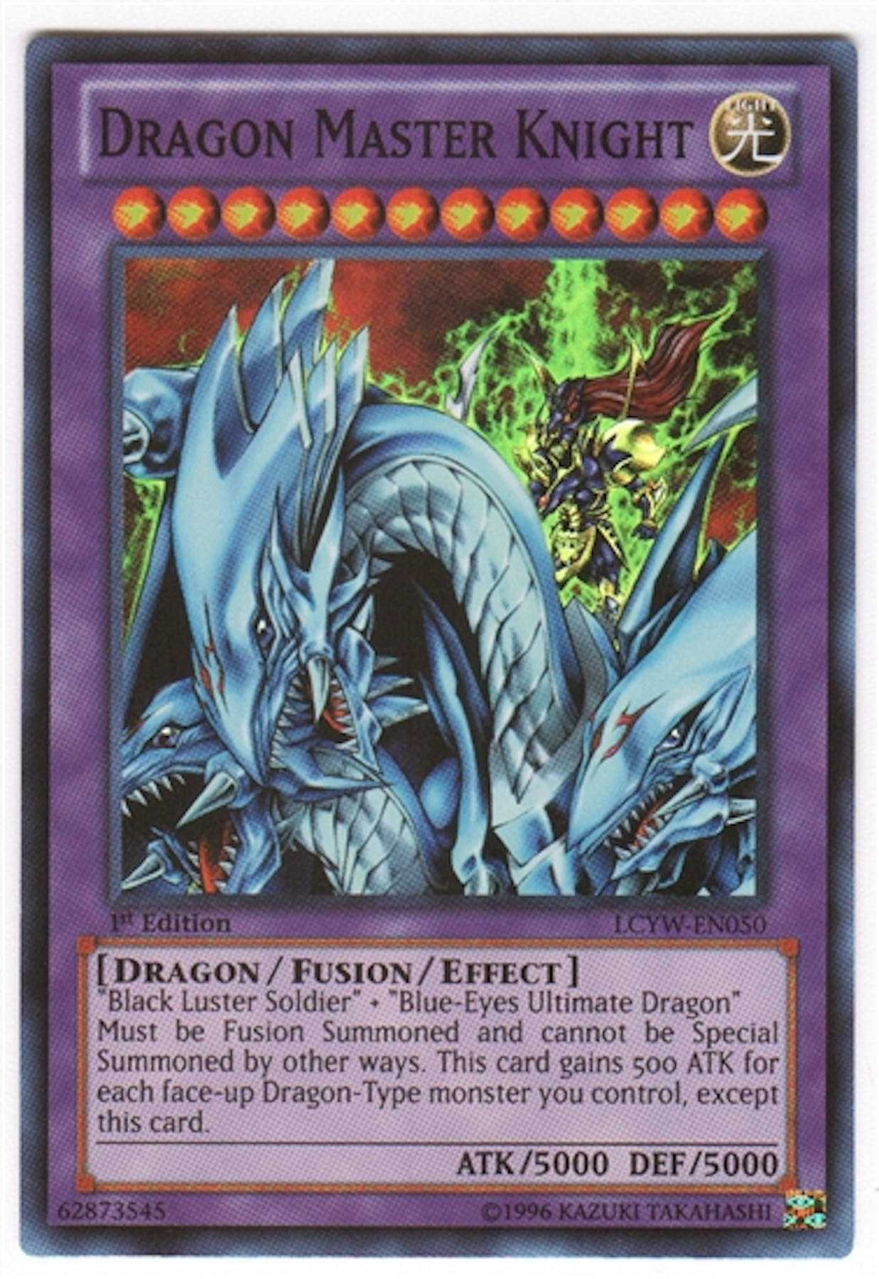 Diamond Auto Sales >> Yu-Gi-Oh Legendary Collection 3 Single Dragon Master ...