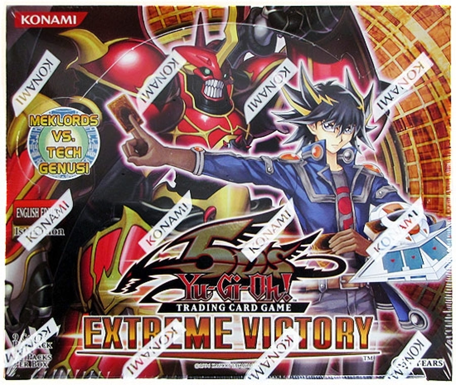 Konami Yu-Gi-Oh Extreme Victory Booster Box 1st Edition